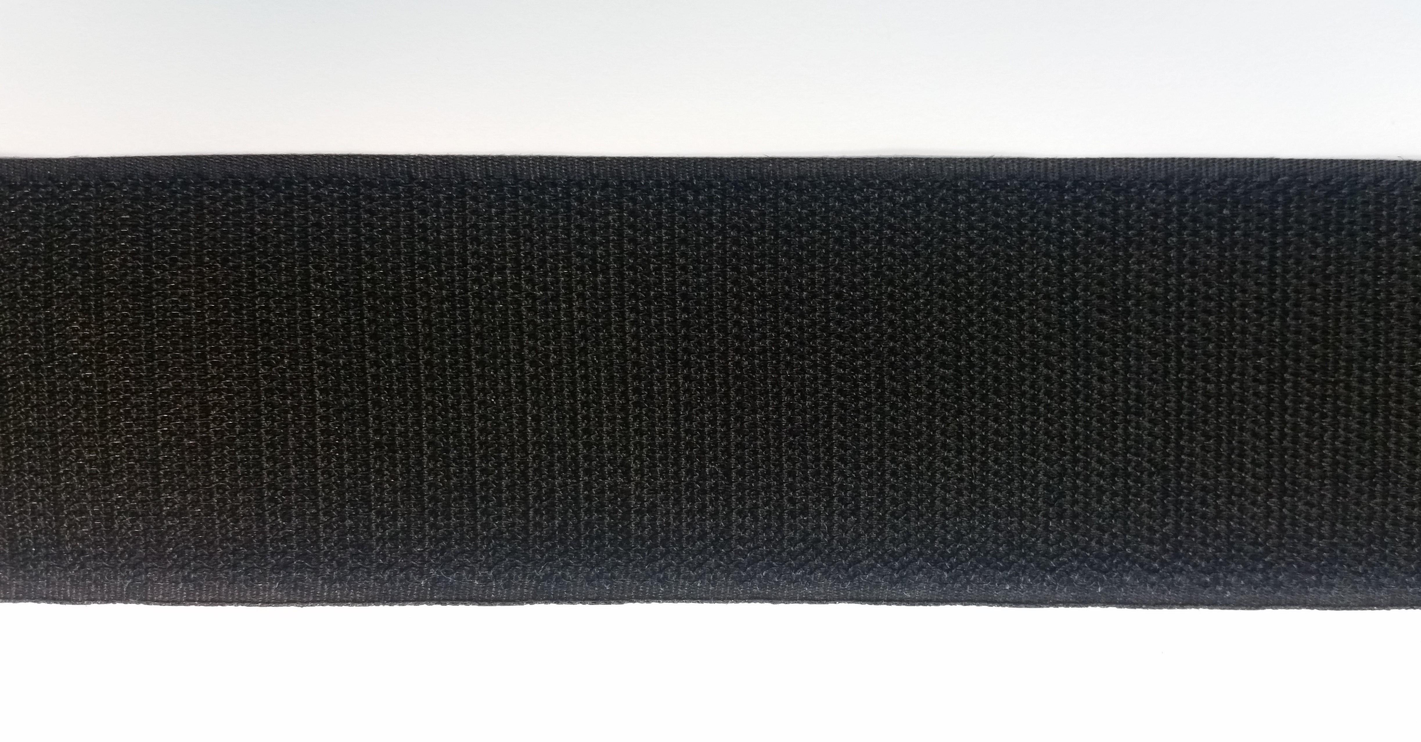 Black Velcro 174 Hook Sew In 4 99 Per Mt 50mm Wide