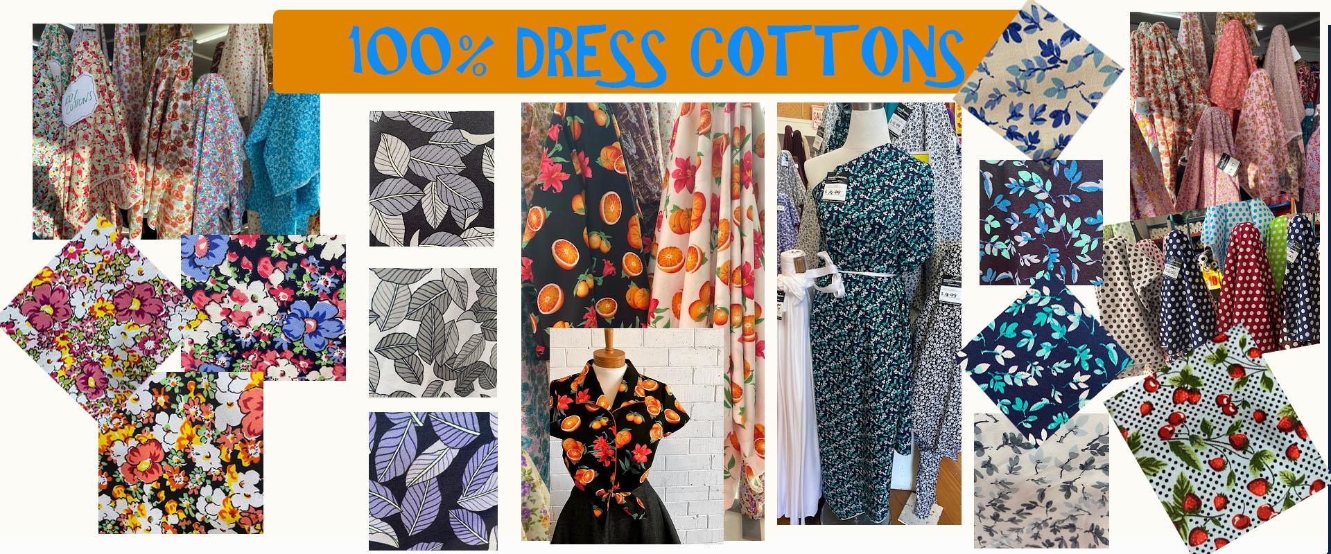 100% Dress Cottons