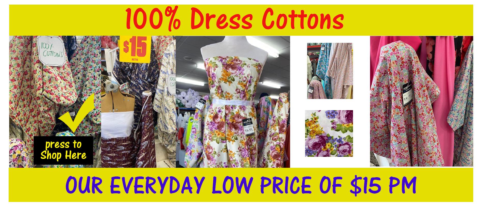 Dress Cottons 100%
