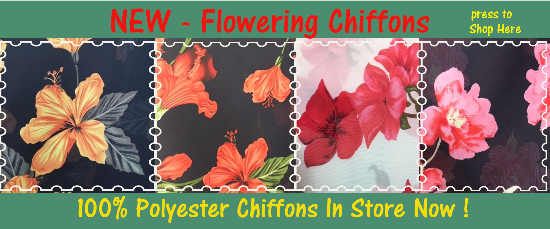 Flower Polyesters