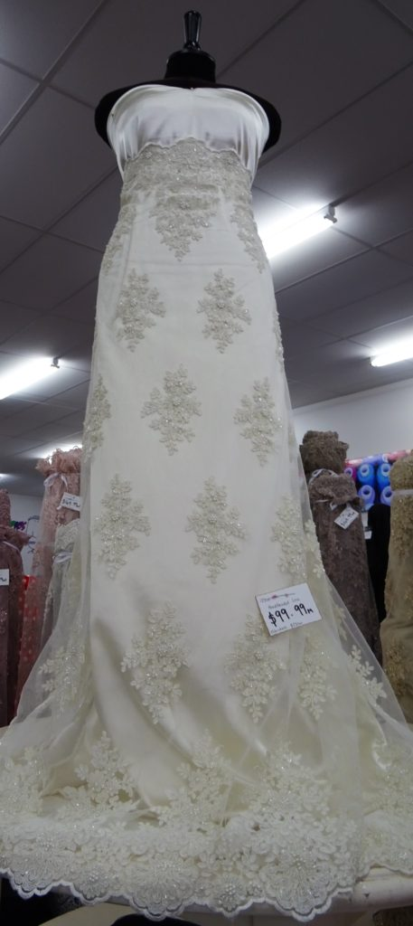 Hand Beaded Bridal & Evening Lace – Range 1 $99.99Per Mt   125cm Wide