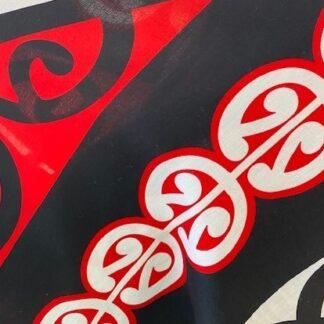 100% Rayon Maori Prints